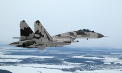 Sukhoi Su-35 with camoufl…