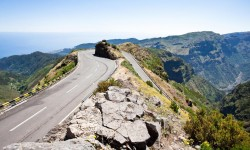 Hairpin turn in the mount…