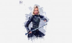 Black Widow Avengers Infi…