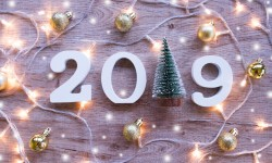 Greetings 2019 New Year