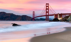 Golden Gate Bridge Evenin…