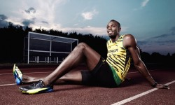 Usain Bolt Fastest Man On…